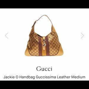 RARE GUCCI vintage Jackie O bag